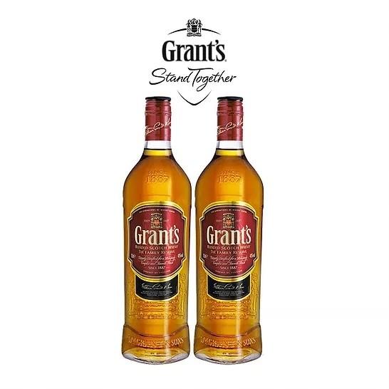 Whisky Grants 2 garrafas de 750ml