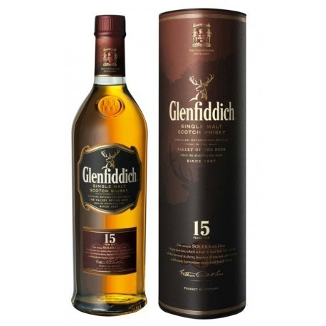 Whisky Glenfiddich 15 Anos 750ml Cx