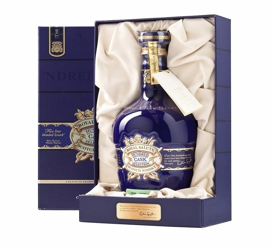 Whisky Chivas Regal Royal Salute Hundred Cask Selection