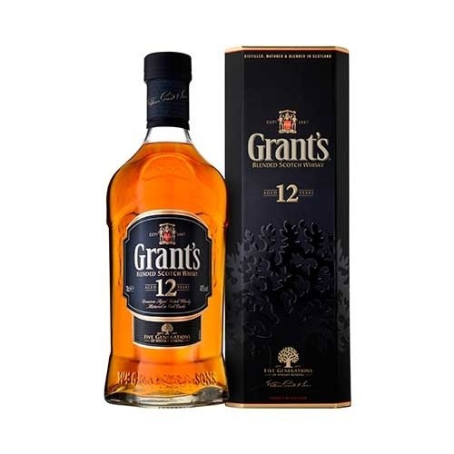 Whisky Grants 12 anos