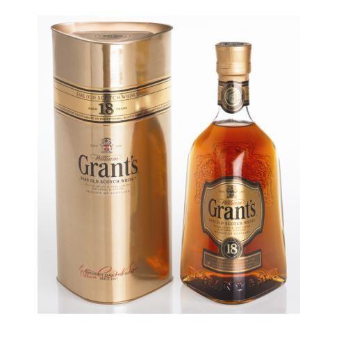 2 X  Whisky William Grants 18 anos