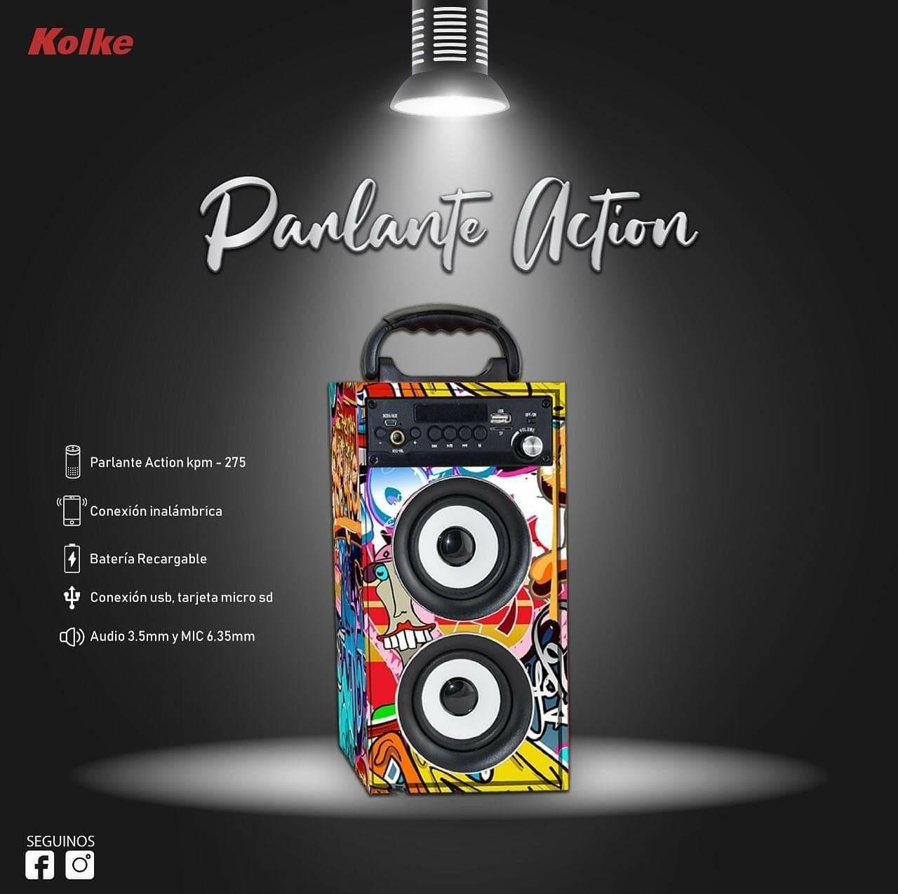 Caixa de som portatil kolke KPM 275