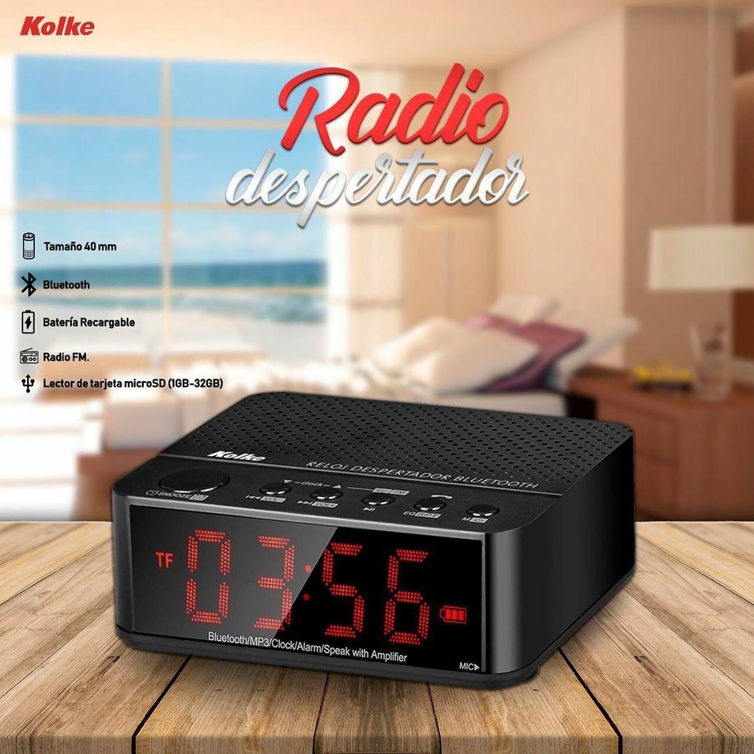 Radio relógio despertador Kolke
