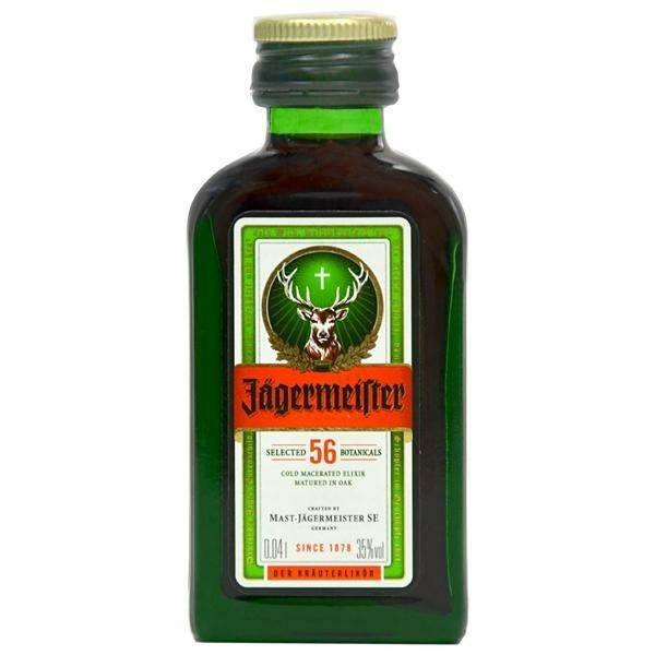 Licor Jägermeister 40 ml