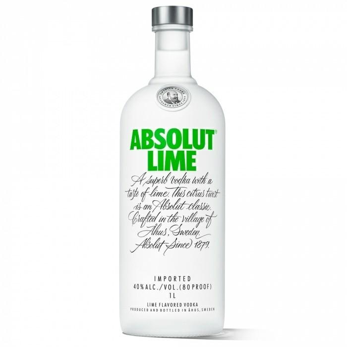 Vodka Lime Absolut 1l