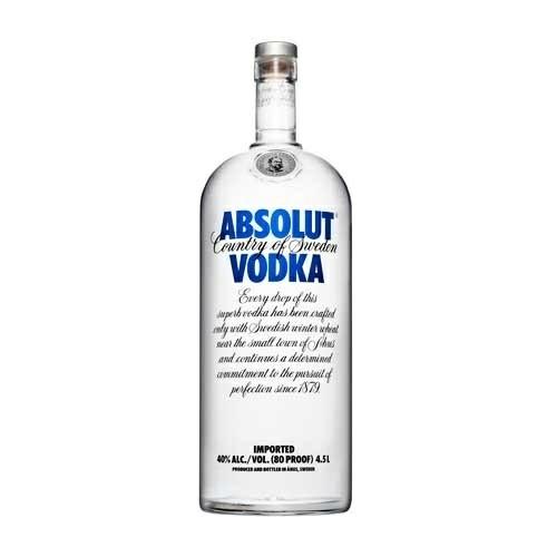 Vodka Blue Absolut 4,5L