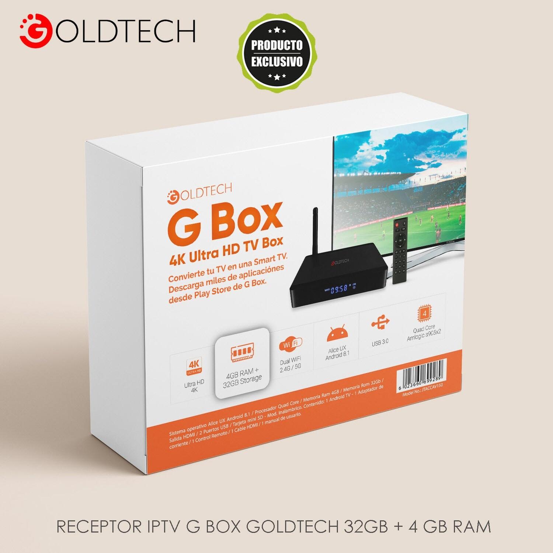 Smart TV Box Goldtech 32GB/4GB V150