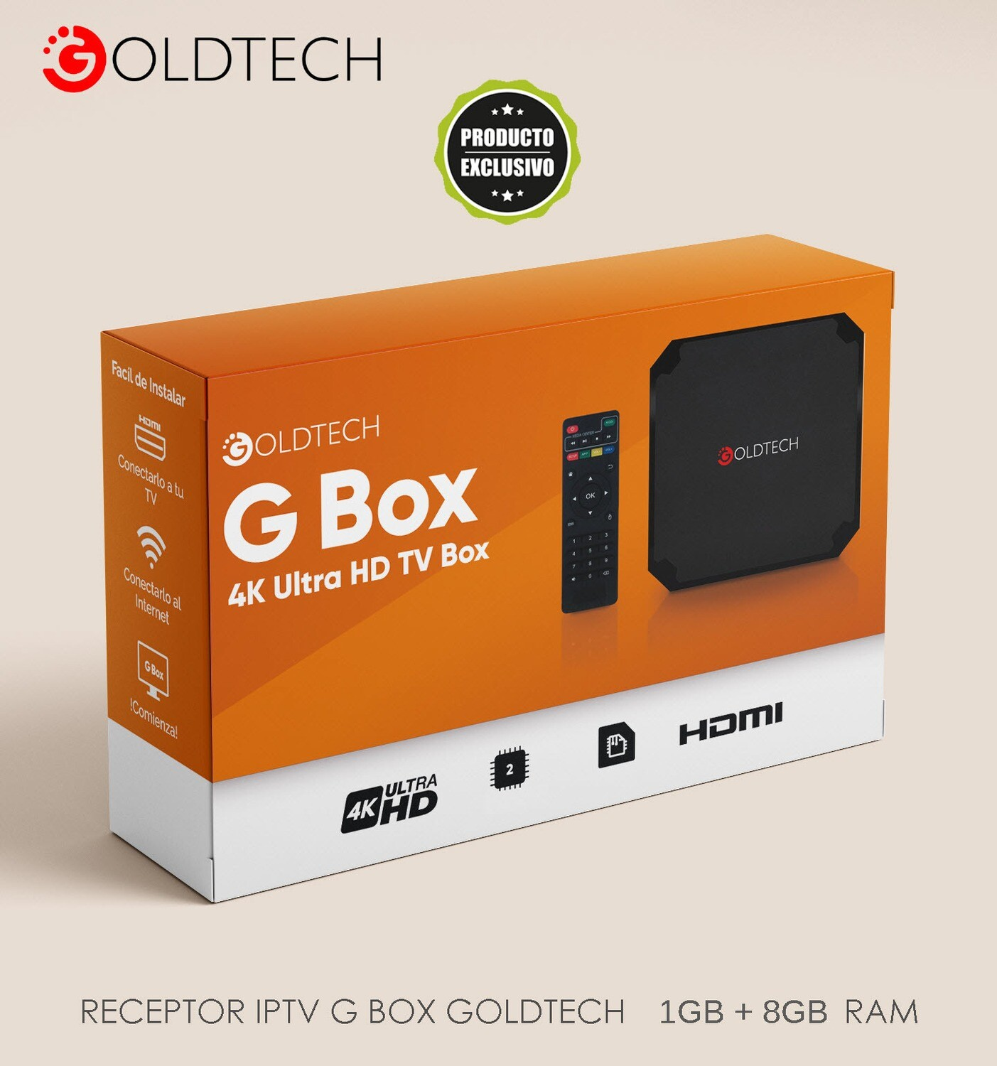 Smart TV Box  Goldtech 8GB/1GB V140