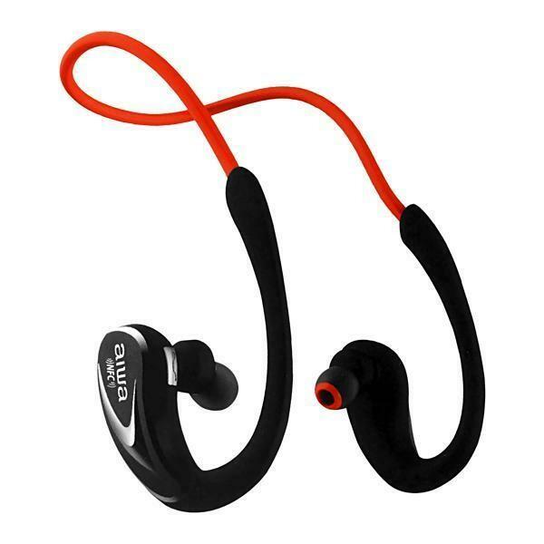 Fone de Ouvido Sem Fio Aiwa AW-902R - Com Microfone - Bluetooth - Vermelho