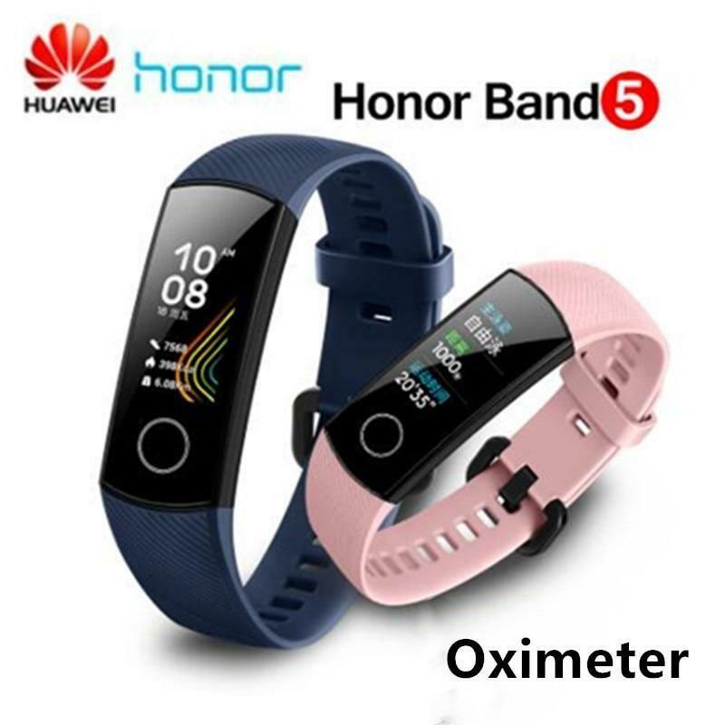 Smart Band  Huawei Honor Band 5 Original + Oxímetro + Batimentos Cardiacos