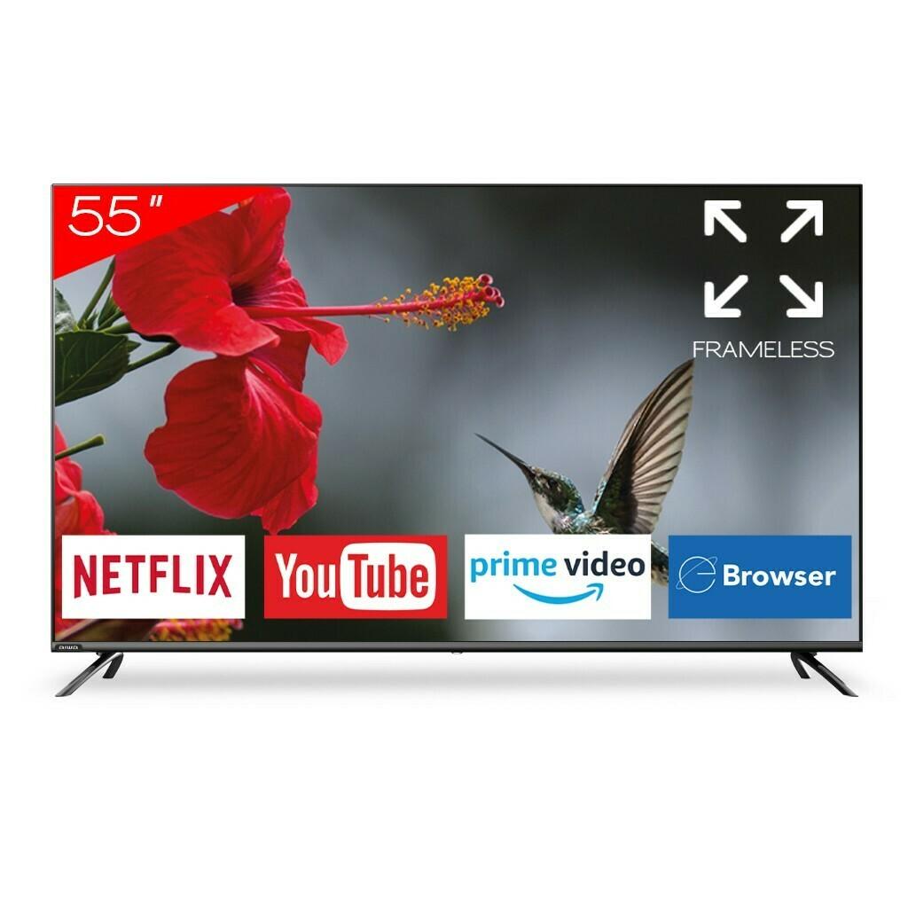 "Smart Tv Aiwa 55"" Frameless com Netflix e Youtube"