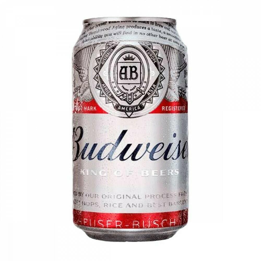 Cerveja budweiser lata 355ml