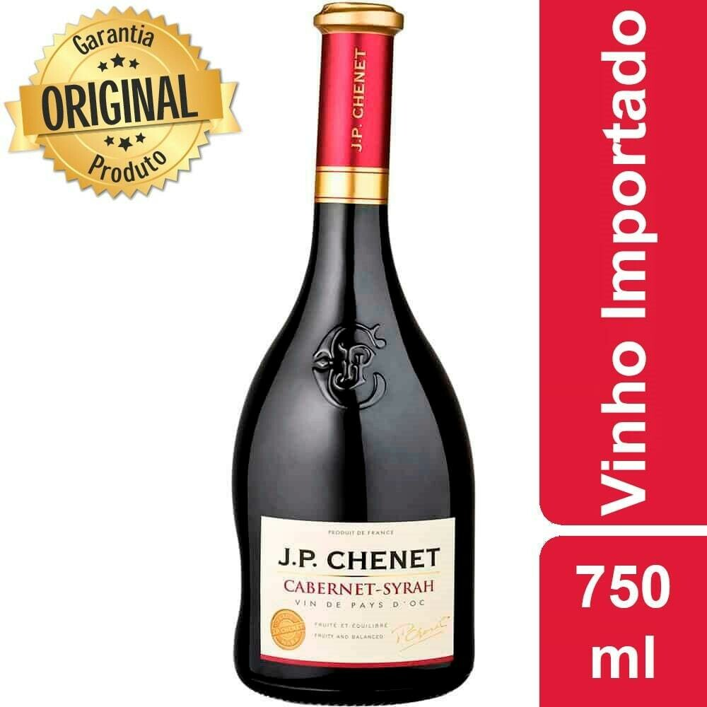 Vinho Tinto Francês Syrah J.P Chenet 750ml