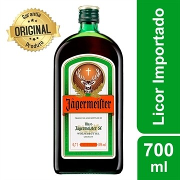Licor Jägermeister Alemão 700ml