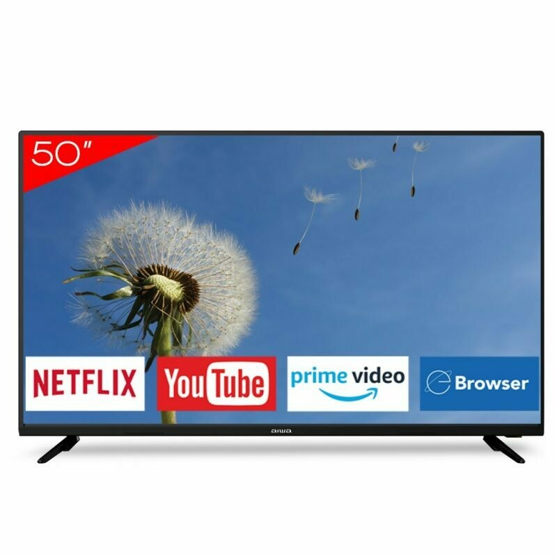 "Smart Tv Aiwa 50""4K  AW50B4K com Netflix , You Tube , Prime Video e navegador"