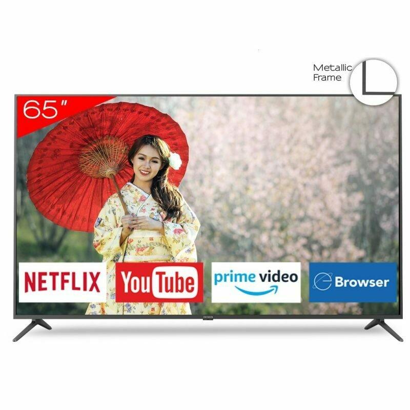 """Smart TV LED 65"""" Aiwa AW65B4K 4K Netflix , YouTube , Prime Video , navegador ."""