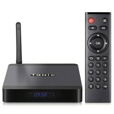 Melhor Tv box do mercado Tanix TX5 Max 32GB+4GB