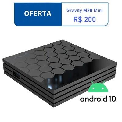 Smart TV Box Gravity M28 Mini Quad Core 2GB 16GB Android 10