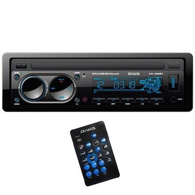 Toca CD Aiwa AW-3298BT Bluetooth USB/AUX/MP3/SD/Rádio AM - FM Preto