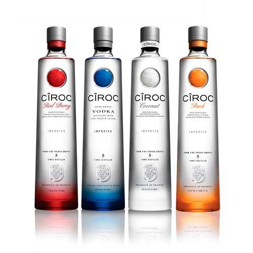 Vodka Ciroc Varios Sabores unid