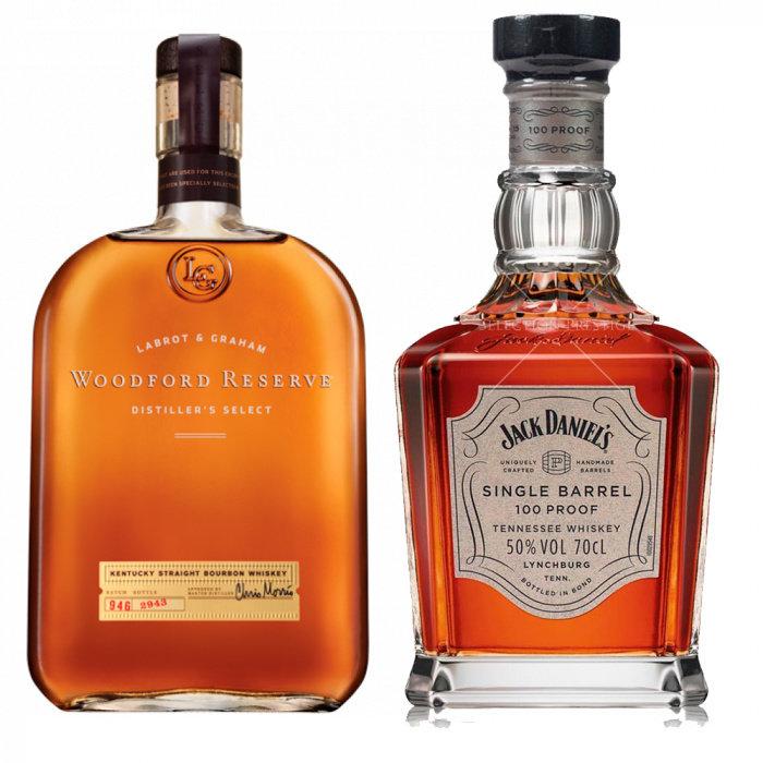 Pack Whiskey Single Barrel + Woodford Reserve Jack Daniel's 750ml