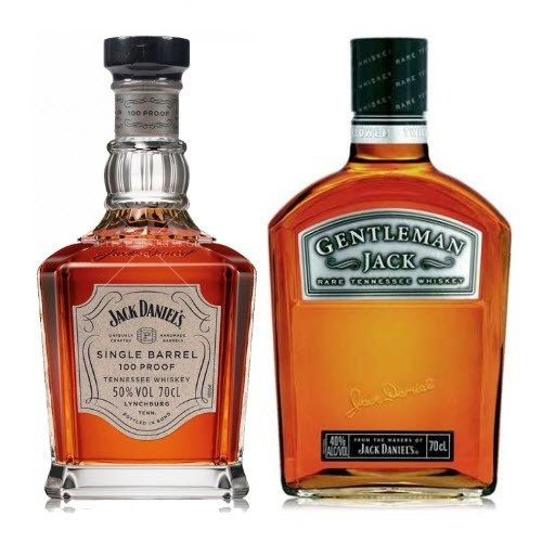 Whisky Single Barrel Jack Daniels 750ml + Gentleman Jack Daniels 1L