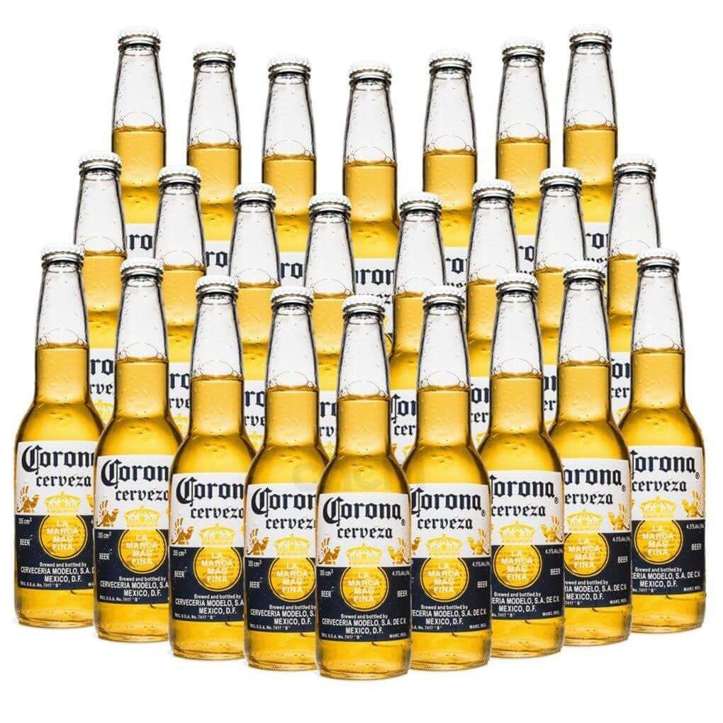 Cerveja Corona caixa 24 unid 330ml