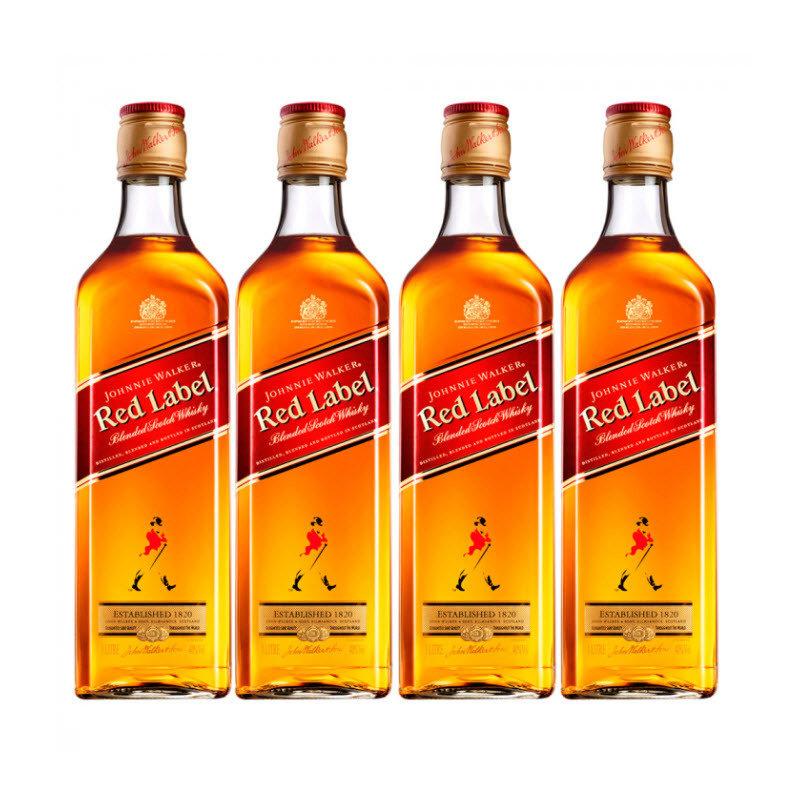 Whisky Johnnie Walker Red 4x1L