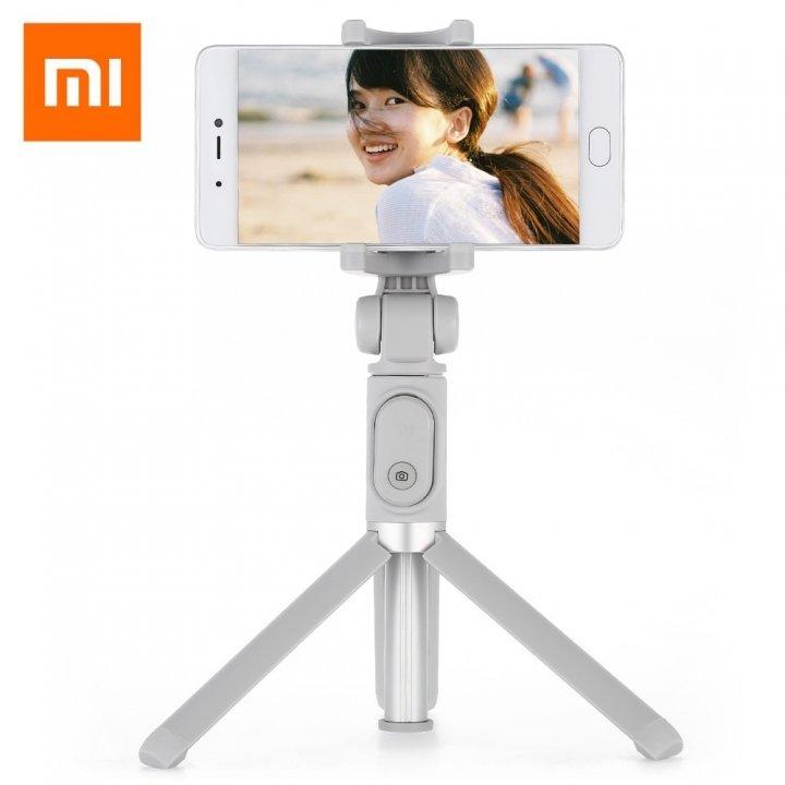 Bastão de selfie Xiaomi com trípode - branco
