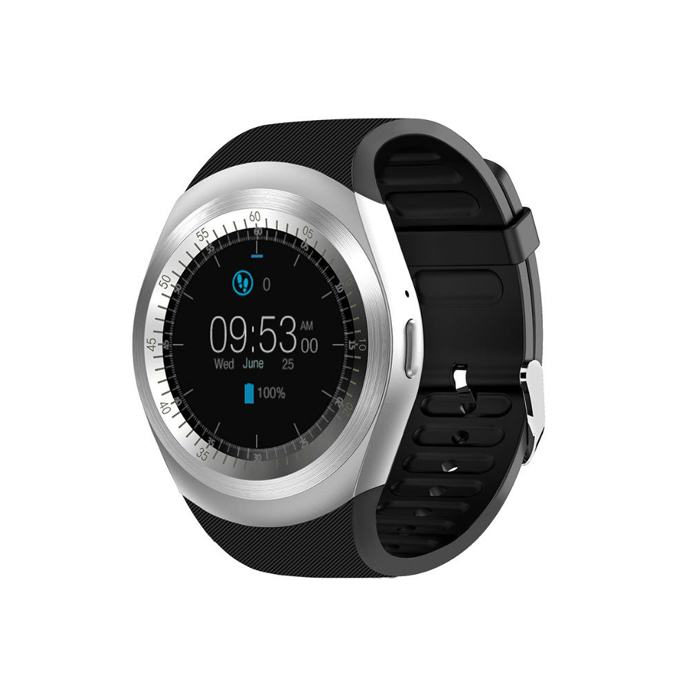 Smartwatch Kolke KVR 137 com Chip prata