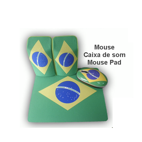 Kit Kolke Mouse , Pad Mouse e Speakers