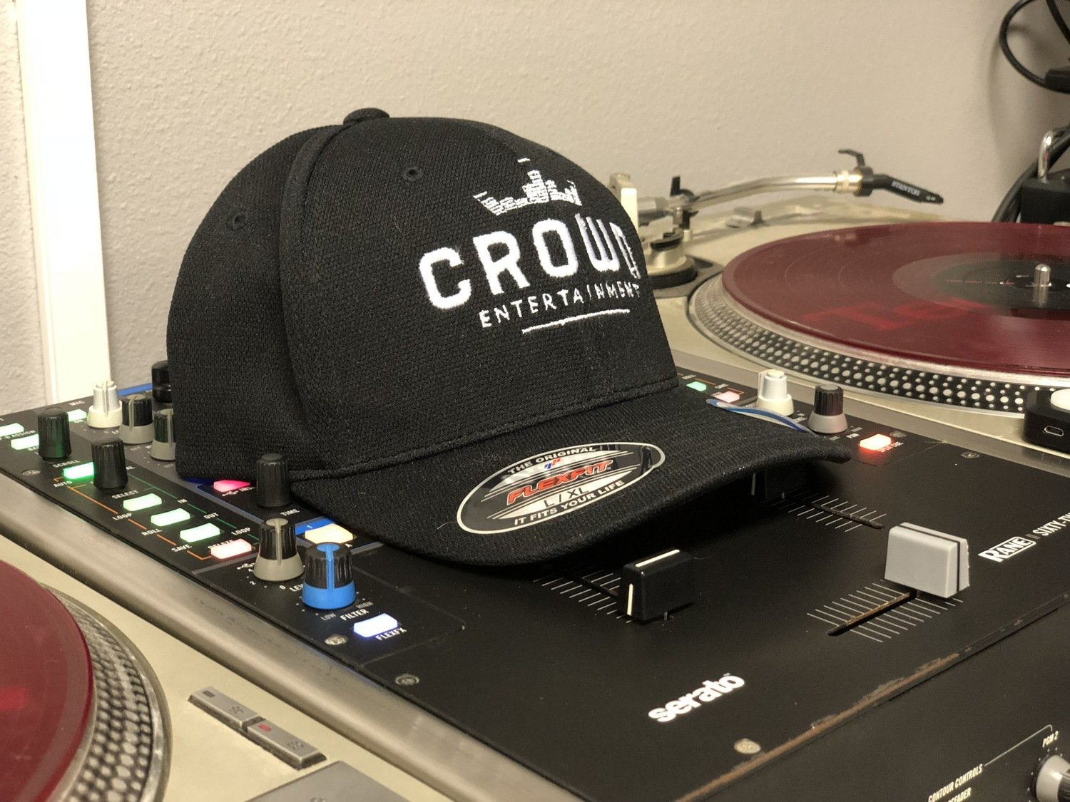 Crown Entertainment FlexFit Hat