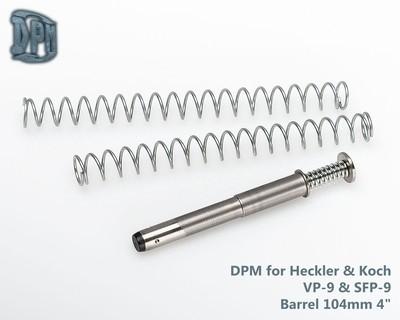 MS H&K/1 - Heckler & Koch VP-9 & SFP-9 Barrel 104mm 4