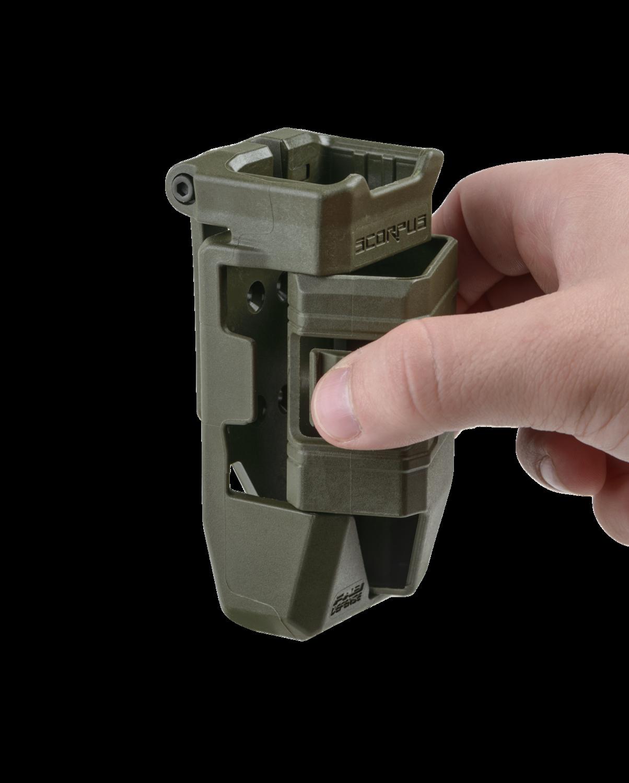 QL-9 Single magazine pouch & quick loader