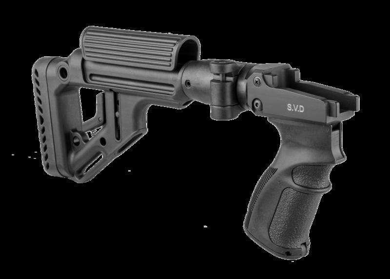 UAS Side Folding and Collapsible Buttstock kit for SVD/Dragunov