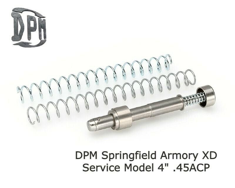 "MS-SPR/2 - SPRINGFIELD XD SERVICE MODEL 4"" Inch BARREL .45 ACP"