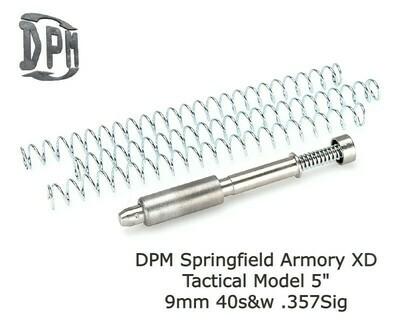 "MS-SPR/3 - SPRINGFIELD XD TACTICAL MODEL 5"" 5"" Inch BARREL 9mm - 40s&w - 357SIG"