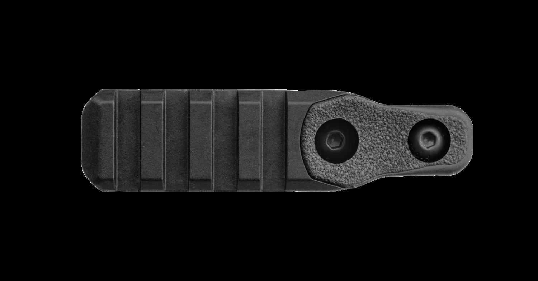 Offset M-LOK Polymer Picatinny Accessory Rail, 4 Slots