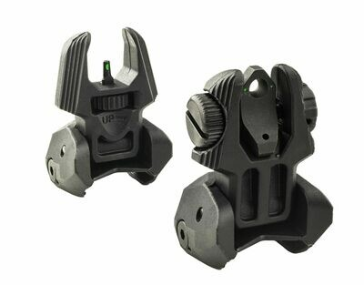Self Illuminated FRBS - Front & Rear Back-Up Sights + TRITIUM