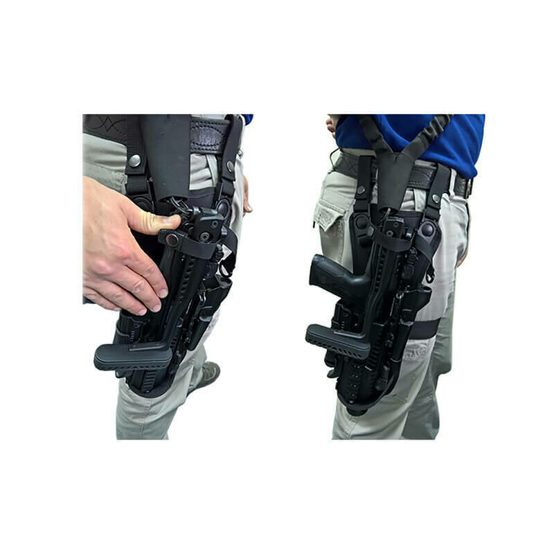 KPOS G2 VCH Holster (under the shoulder carry holster or as a thigh rig)