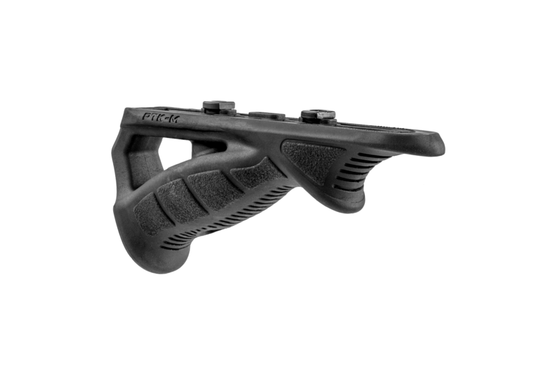 Rubberized M-LOK® Compatible Ergonomic Pointing Foregrip