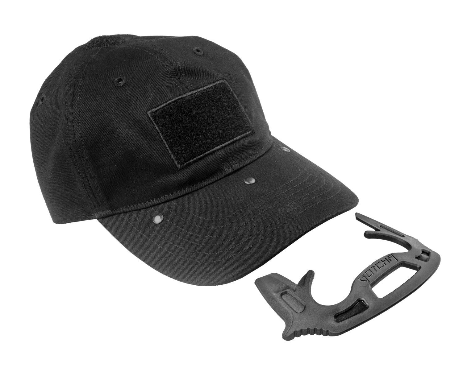 GOTCHA - Tactical Cap with Self-Defense Tool