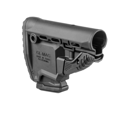 GL-MAG - M4 'Survival' Buttstock w/ 'Built-in' Mag Carrier