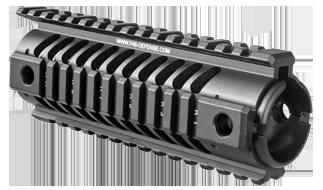 NFR - Carbine Length M16 Aluminum Quad Rail