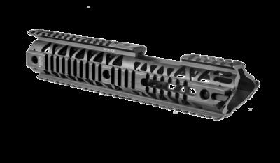 NFR-EX - Carbine Length AR 15 Extended Aluminum Quad Rail System