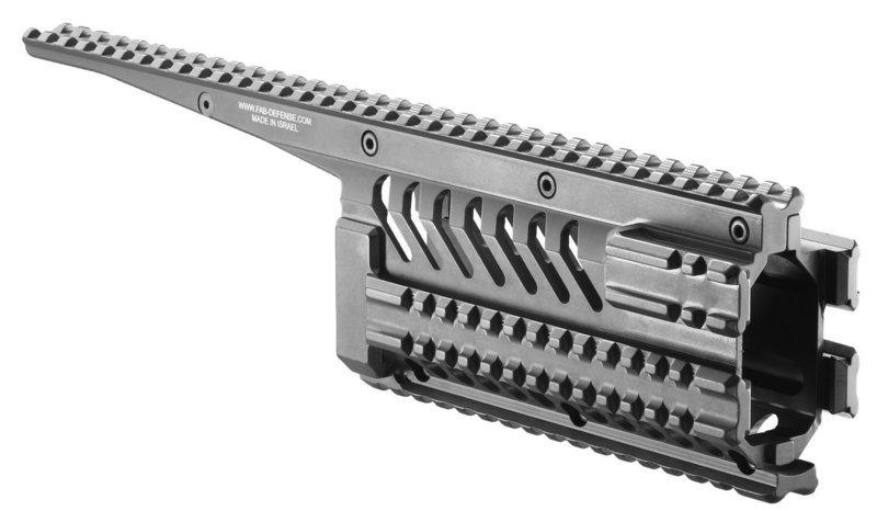 VFR-GA - Galil AR/SAR Full Length Aluminum Quad-rail System
