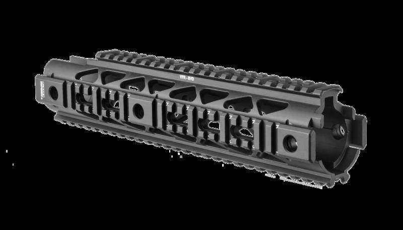 VFR-SVD - SVD Aluminum Quad-Rail system