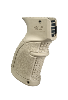 AGR-47 - Rubberized Ergonomic AK/AKM Pistol Grip