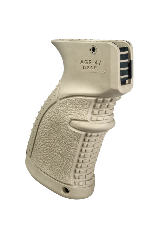 AGR-47 - Rubberized Ergonomic AK/AKM Pistol Grip