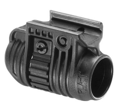 PLA 1 - Flashlight Picatinny Rail Adaptor